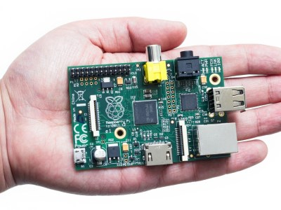 Raspberry Pi in mano