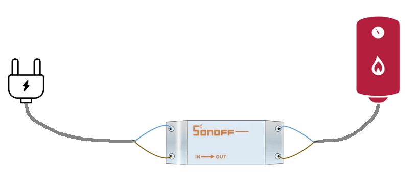 Scaldabagno - Secondo passo