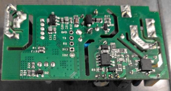 Sonoff Basic - RF R2 POWER V1.0 - Back