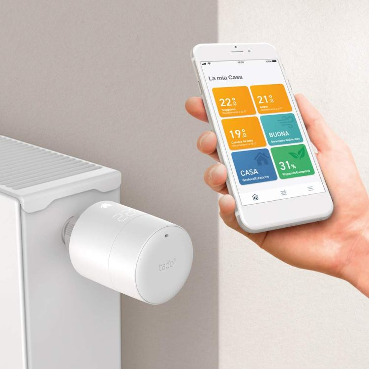 Intelligent thermostatic head tado°