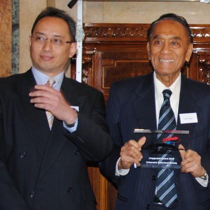 Batak Ibnu Wahyutomo and Dr. Arifin Siregar