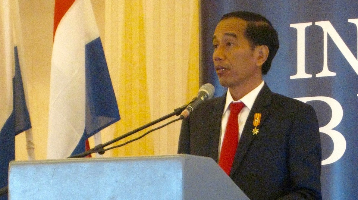 President Joko Widodo calls the Netherlands an 'old friend'