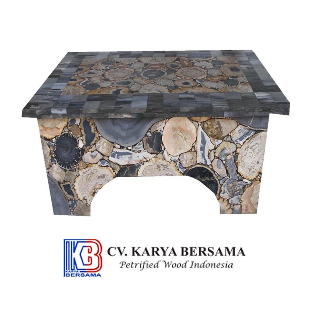 Petrified Wood Mosaic