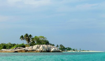A Unique Tourist Spot in Belitung - Babi (Pig) Island