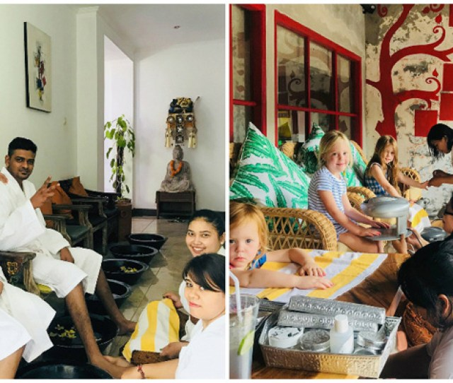 Not Only Is It A Mere  Minute Walk Away From Batu Belig Beach In Kuta A Top Notch Traditional Balinese Massage Only Costs Rp  Here Approximately