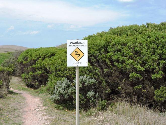 australia warning