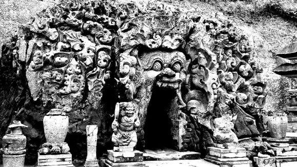 Goa Gajah la grotta dell'elefante