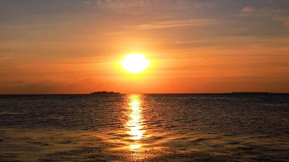 karimunjawa tramonto sulle isole