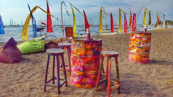 Bali la spiaggia di Lovina