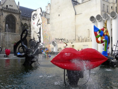 Parigi la Fontane des Automates