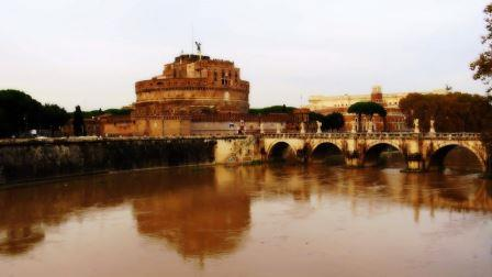 Italia Roma lungo tevere