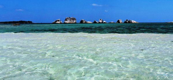 Belitung granito e azzurro