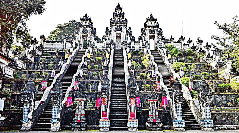 Bali lempuyang temple entrata principale