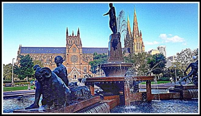Sydney Archibald Fountain