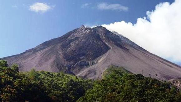 Sumbawa il vulcano Tambora