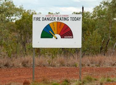 Australia fire Danger rating