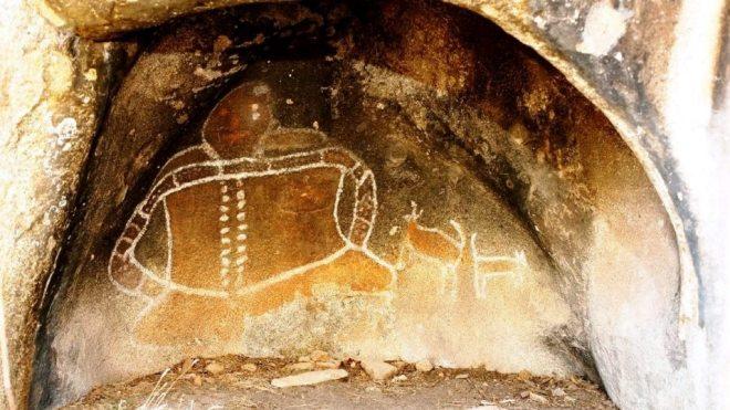 Victoria Bunjil Shelter arte aborigena