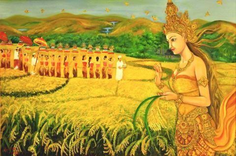 induismo Dewi Sri Dea balinese