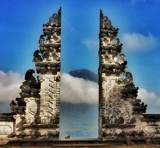 Bali tempio di Lempuyang il portale