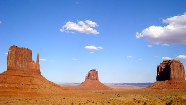 West Coast: Monument Valley