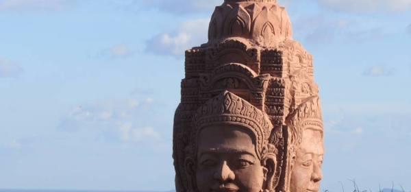 Cambogia decorazione