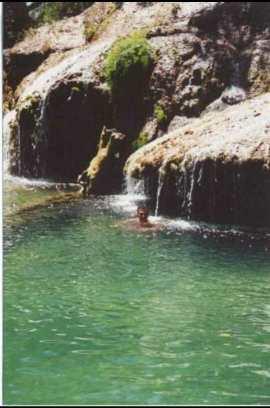 Cuba cascata El Nicho