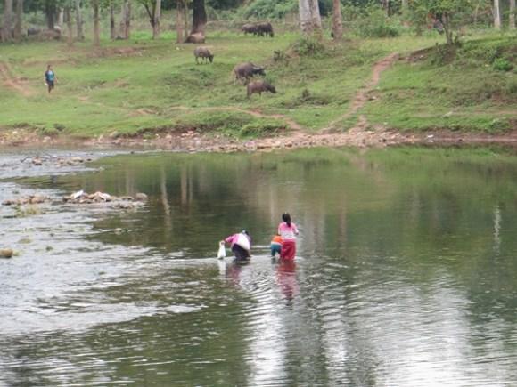 Laos lungo il fiume