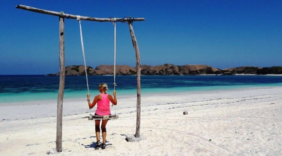 Viaggiatori chi siamo altalena a lombok
