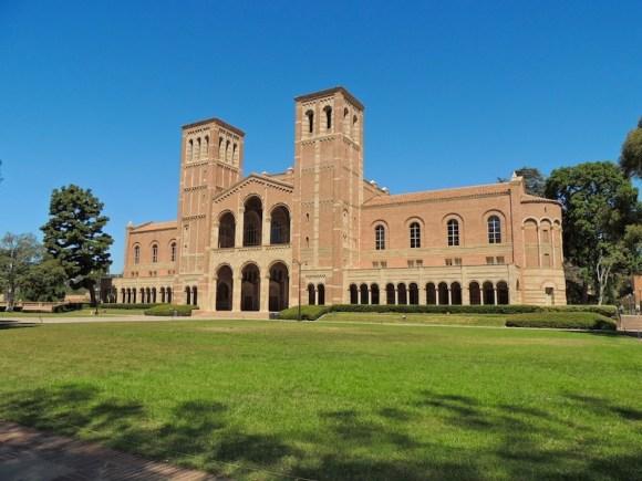 Le città della West Coast Los Angeles: campus UCLA