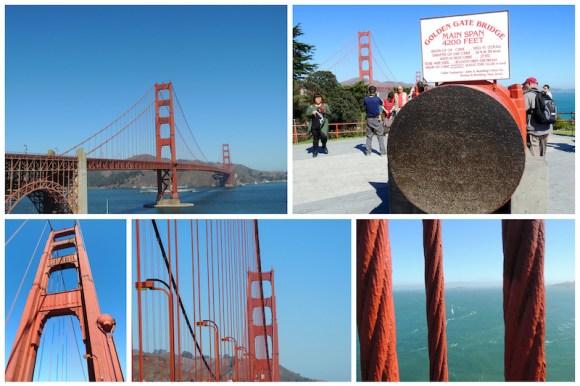 Le città della West Coast San Francisco: Golden Gate Bridge