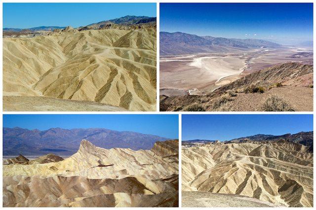 West Coast Death Valley - Dante's view e Zabriskie Point