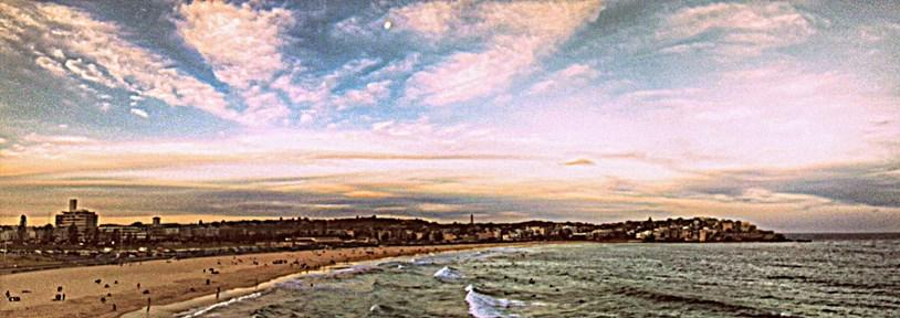 New south wales boundai-beach-tramonto