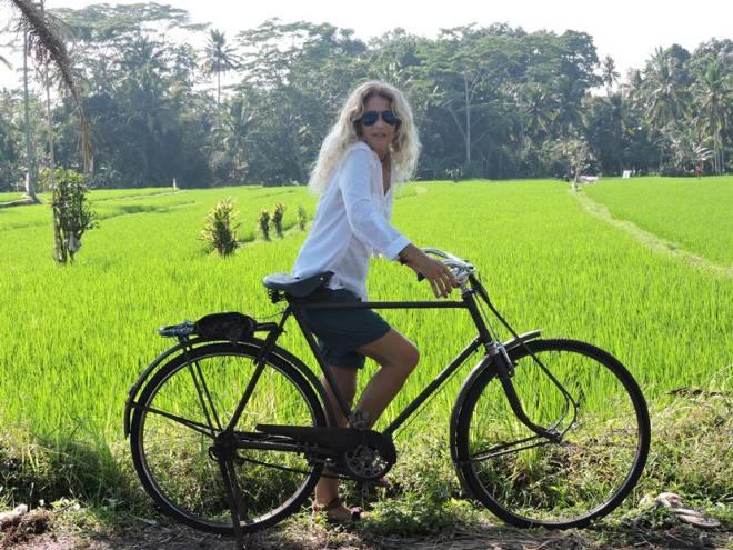 cosa fare a Bali in bicicletta tra le risaie