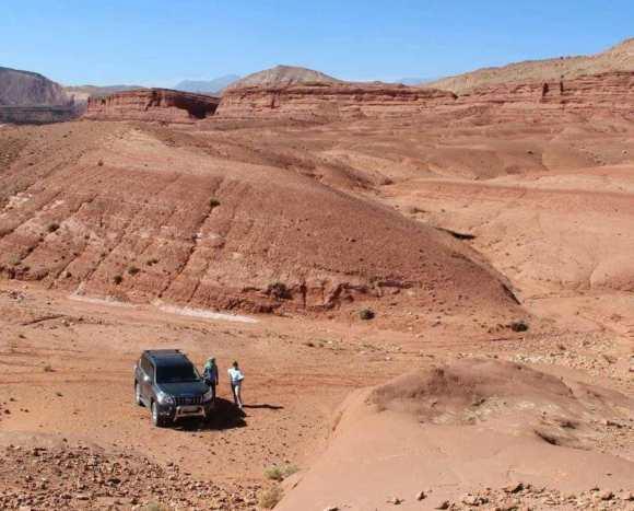 Marocco off road a boutaghrar