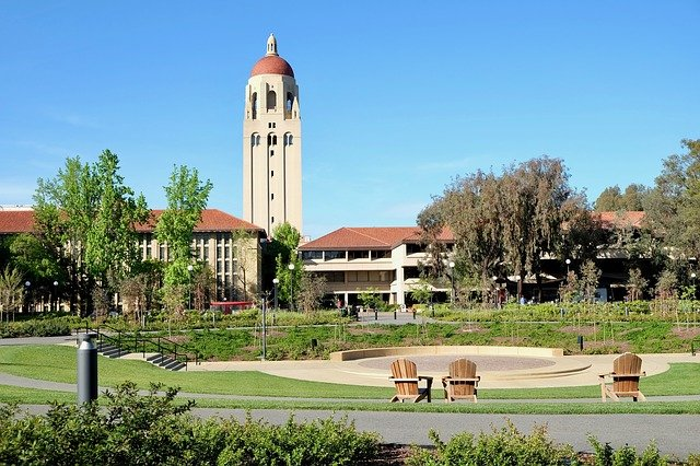 Le città della West Coast Stanford University