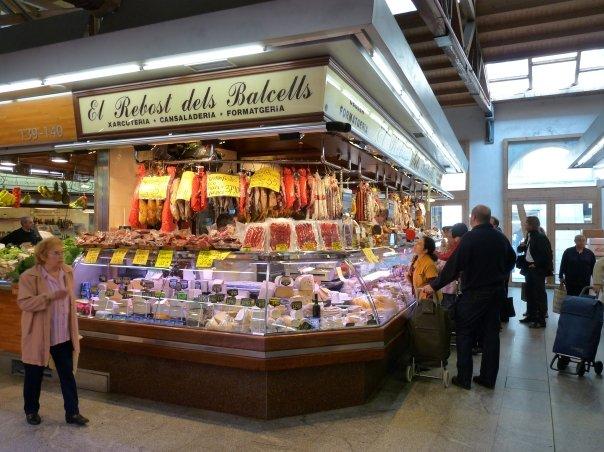 Barcellona: Mercat di S. Caterina