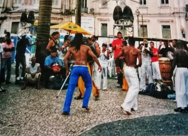 Brasile Bahia caporeira