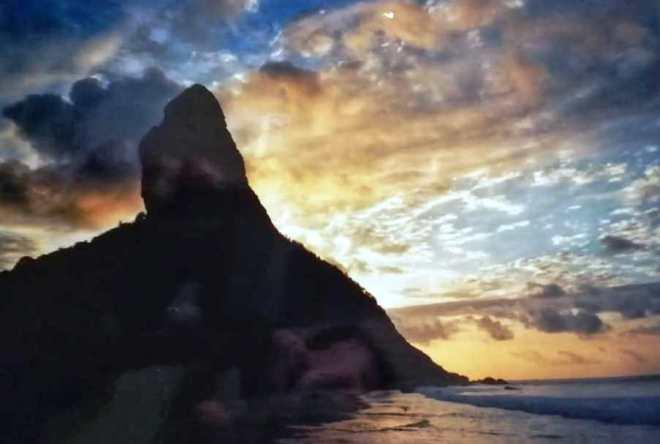 Fernando de Noronja: pico al tramonto