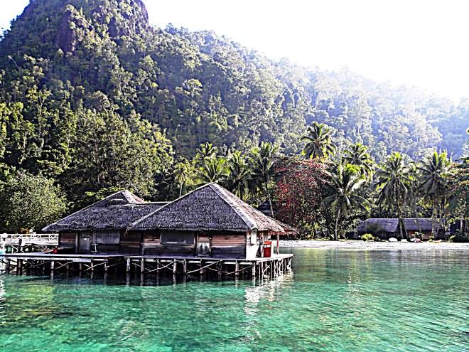 isola di cubadak il pontile