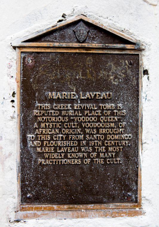 Tomba di Marie Leveau