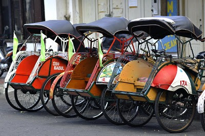 becak, Indonesia Travel guide