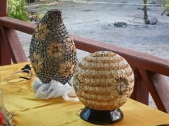 Handmade Seashell Lamps