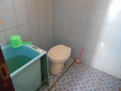 Misaligned Toilet