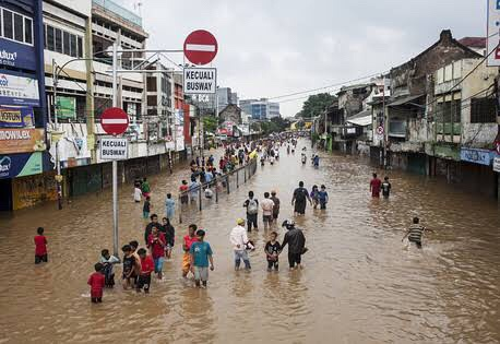 Image result for flood in indonesia