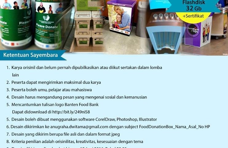Sayembara Design Food Donation Box
