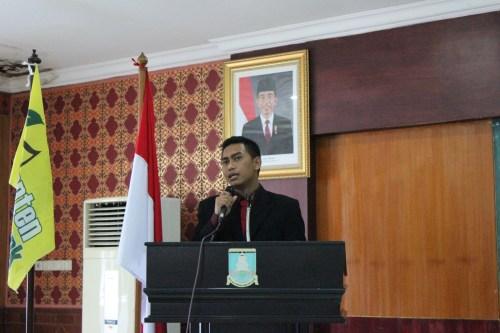 Ketua Banten Food Bank Idho Meilano