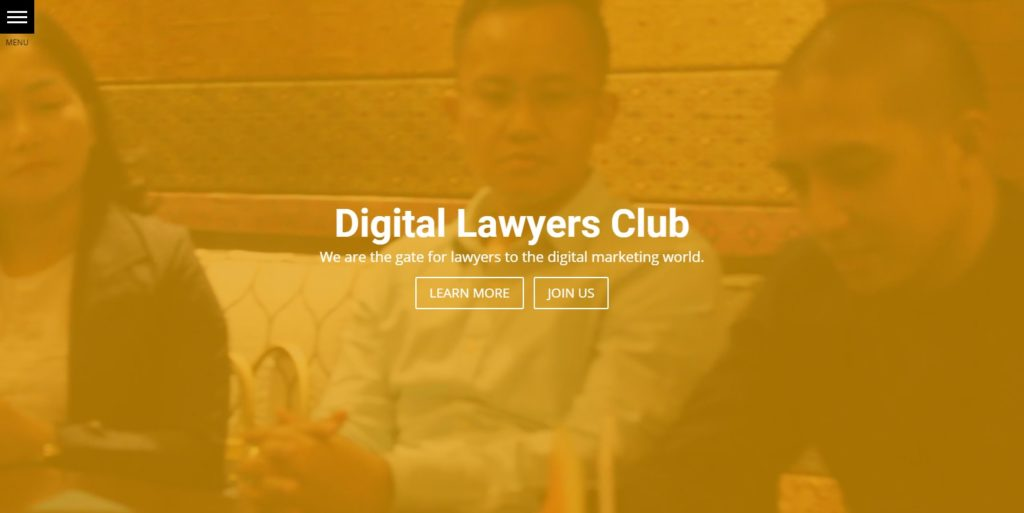 Digital Lawyers Website