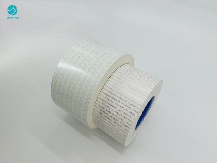 Kertas Foil Liner Liner Putih Tanpa Aluminium Ramah Lingkungan Untuk Kemasan Rokok
