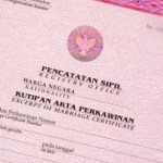 Indonesian Translation Service Marriage Certificate Akta Perkawinan