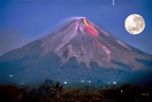 Mt. Merapi Java Indonesia